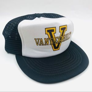 vintage Vanderbilt commodores trucker dad hat mesh